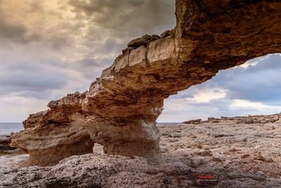 Arc de pedra, Portinatx, Eivissa