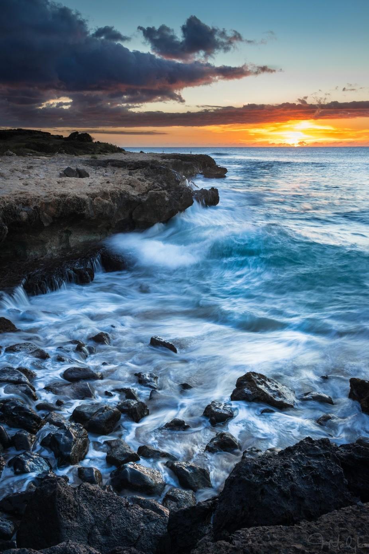 Shoreline Sunset by OutlawSapper - Unforgettable Landscapes Photo Contest by Zenfolio