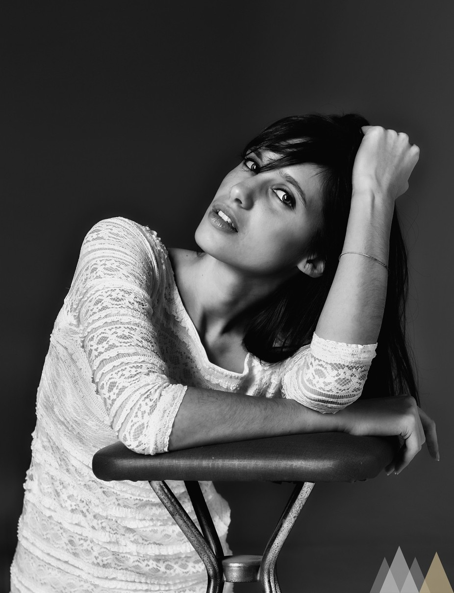 Elisa by nonseireale83 - Black And White Female Portraits Photo Contest