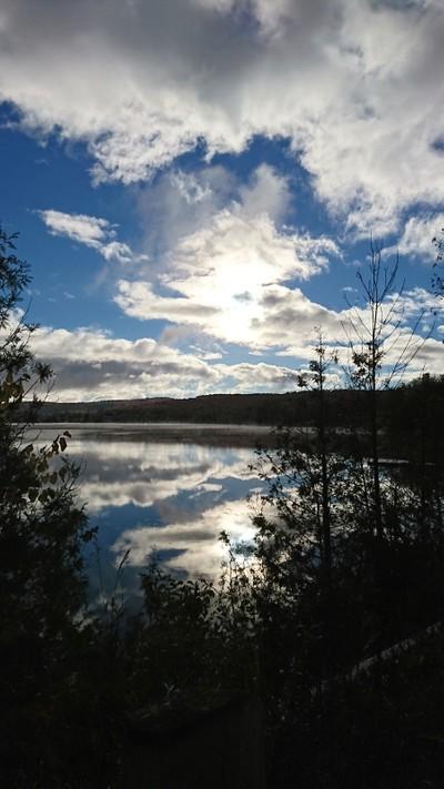 Calm fall morning