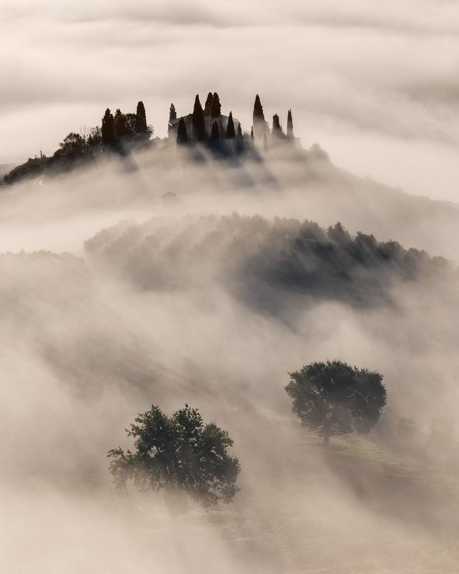 The Mist by pietrorango - Mist And Drizzle Photo Contest