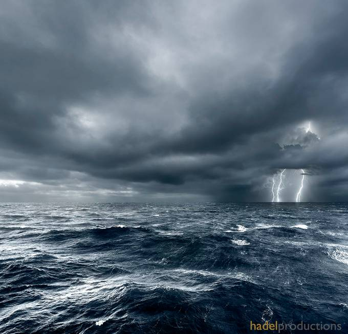 Hurricane warning by greghadel - The Ocean Photo Contest