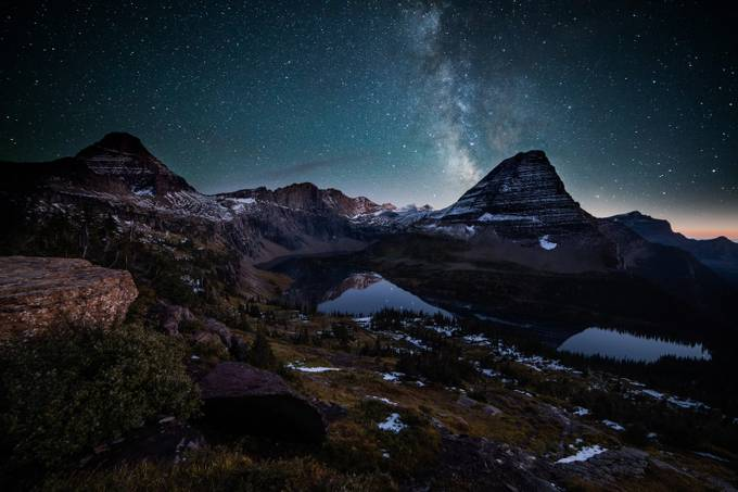 Night Views of Hidden Lake by jasonjhatfield - Sweeping Landscapes Photo Contest