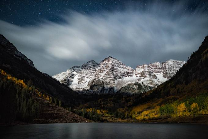 Midnight Storm on the Bells by jasonjhatfield - Cloudy Nights Photo Contest