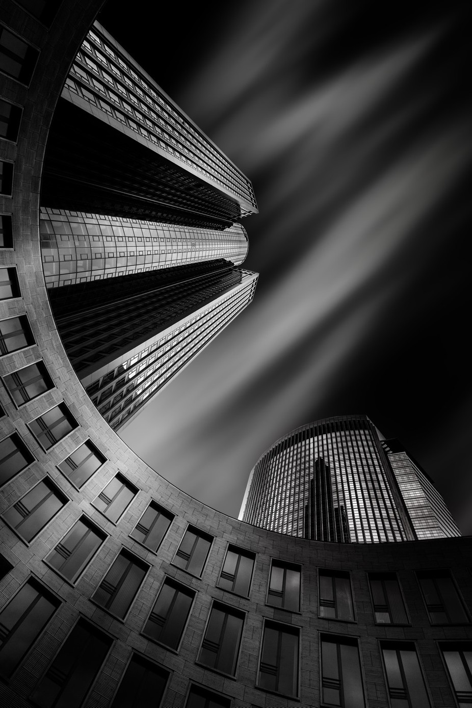 Tower 185 by Anneliese-Photography - Black And White Architecture Photo Contest