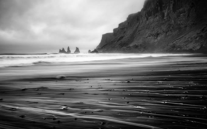 Vik Trails by TomazKlemensak - Black And White Landscapes Photo Contest