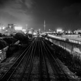 I Stood over the CN tracks and Gardiner Expressway just west of the Toronto downtown core for this long exposure. Loved how it looked in B&W,...