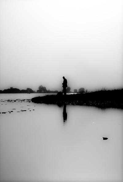 mali looking at the niger river