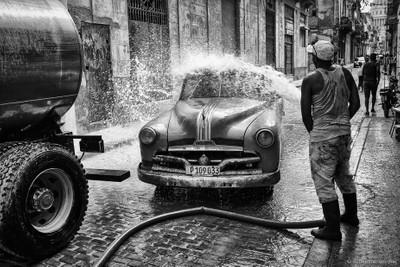 La Habana carwash