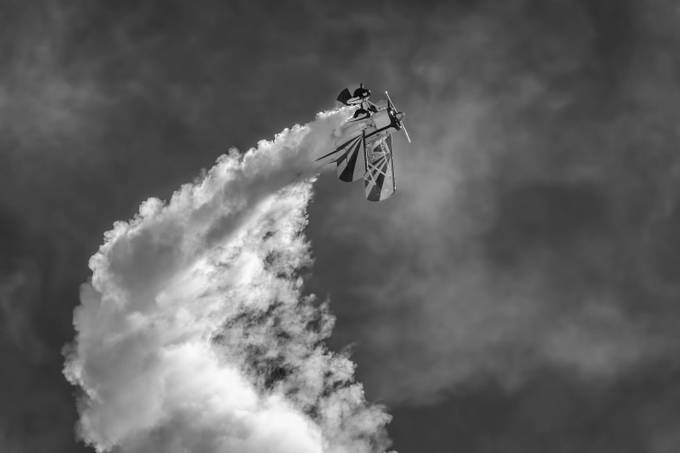 Biplane by bry67 - Everything Smoke Photo Contest
