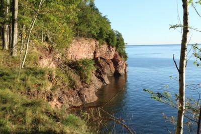 Cliffs off Isle
