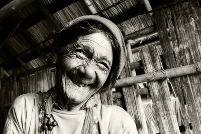 Old Smile in Chin State