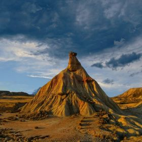 The Bardenas reales desert, Spain