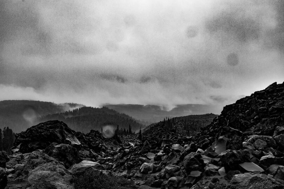Only one of the four pictures I got to take on a recent summit of Mt Saint Helens. This particula...