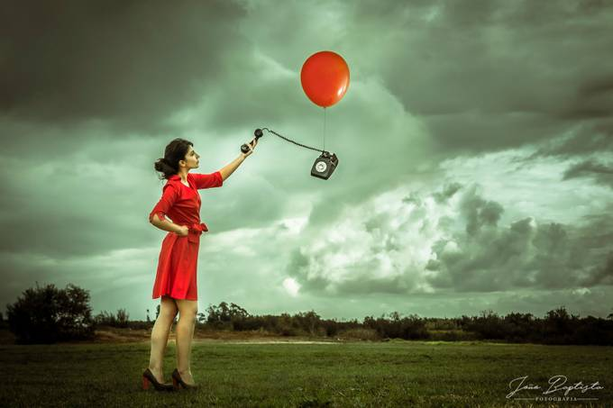A Call From Beyond by JBaptista - Show Balloons Photo Contest