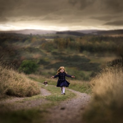 Sofie in Scotland