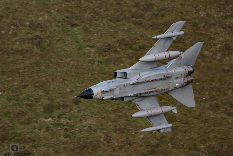 Panavia Tornado GR4, 9 Sqn from RAF Marham. Callsign FANG22