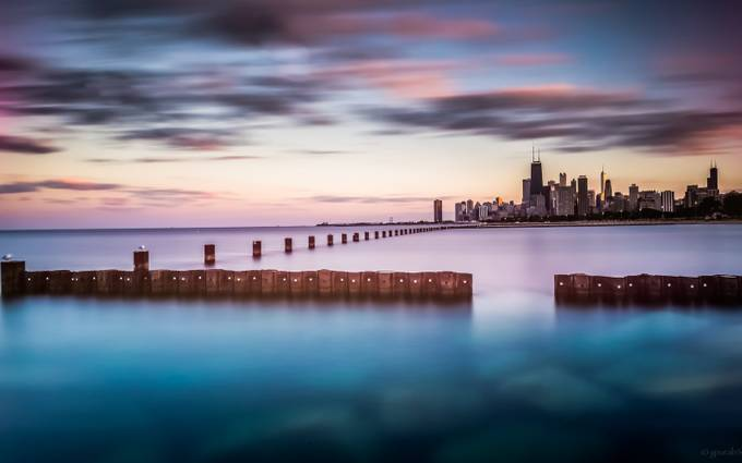 Windy City by gourabsabui - Tall Structures Photo Contest