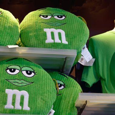 Green M & M