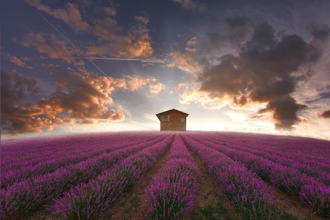 The house of the hill by christoslamprianidis - Unforgettable Landscapes Photo Contest by Zenfolio