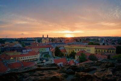 Eger Skyline Sunset