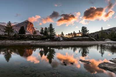 Sunrise at Lago Limides