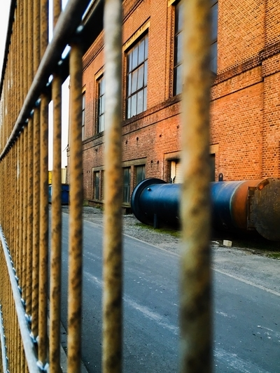 Rusty Old Factory