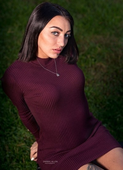 Outdoor Fashion - Fall Shoot in the Park  | Model | CathyAnn