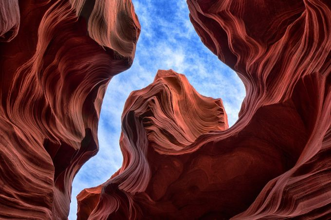 Blue Sky Slot by michaelmarcoux - Magnificent Canyons Photo Contest