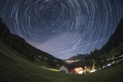 Stars above Gstaad