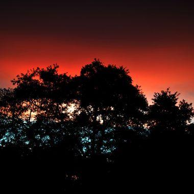 Sunset on 100516