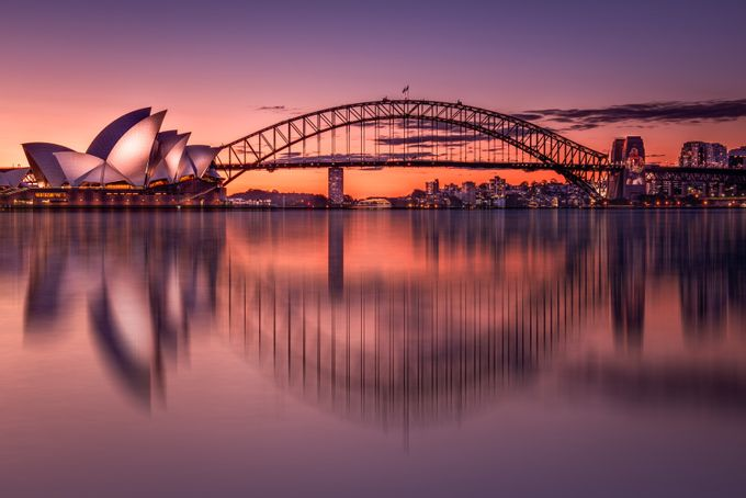 Sydney and sunset by nadiam84 - Monthly Pro Vol 27 Photo Contest