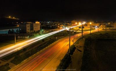 My city at night