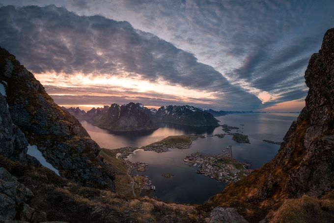 Reinebringen - Fisheye perspective by Tor-Ivar - Iconic Places and Things Photo Contest