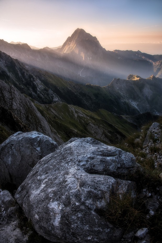 First light on mountains... by elenapardini - Our Natural Planet Photo Contest