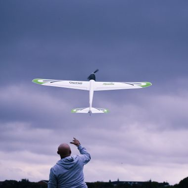 Taken in Hanworth Air Park, West London. I met this man trying out his new glider, so I asked if I could take a few pictures.