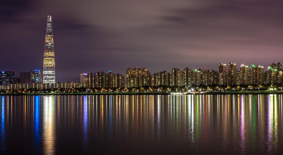 Seoul shot at night