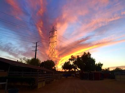 Power Tower Sunset