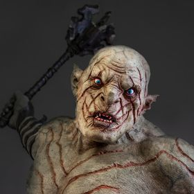 The Pale Orc is one of the most formidable characters in Peter Jackson's The Hobbit movie trilogy. A larger than life model by the brilliant...