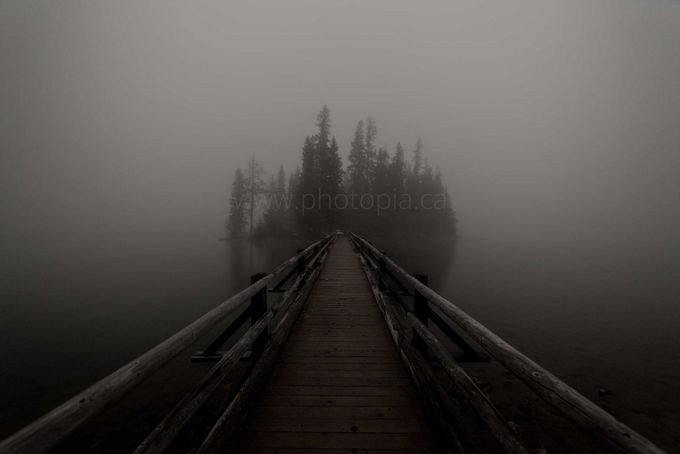 Beneath the Fog by bromleychamberlain - Mysterious Shots Photo Contest