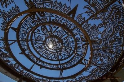 Solar Aztec Calendar