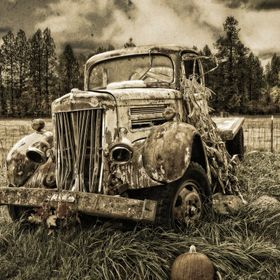 It was nice to find this old truck, while out on a Sunday drive. It could have been dumped, or trashed, but instead...