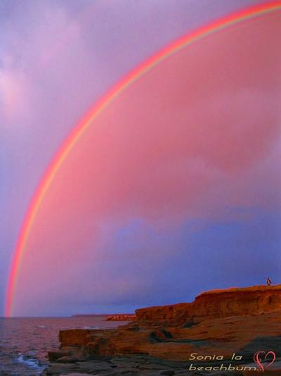 Somewhere, over the rainbow...