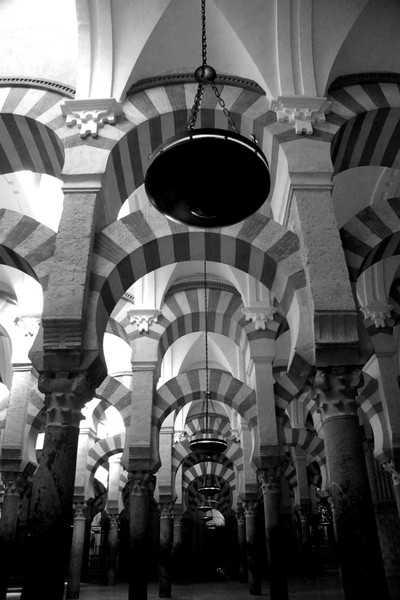 Arches 'All things black and white'