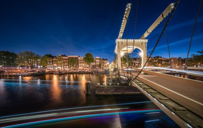 Amstel Bridge Amsterdam