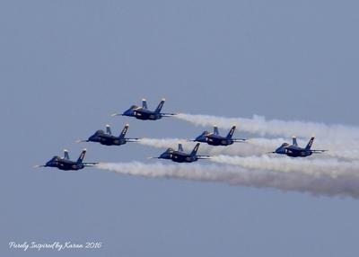 Blue Angels in the Maryland Fleet Week Air Show
