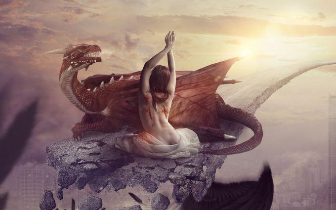 Falling Demon by Loza - A Fantasy World Photo Contest
