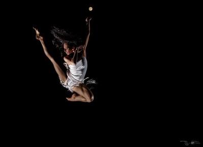 October Super Moon Dancer