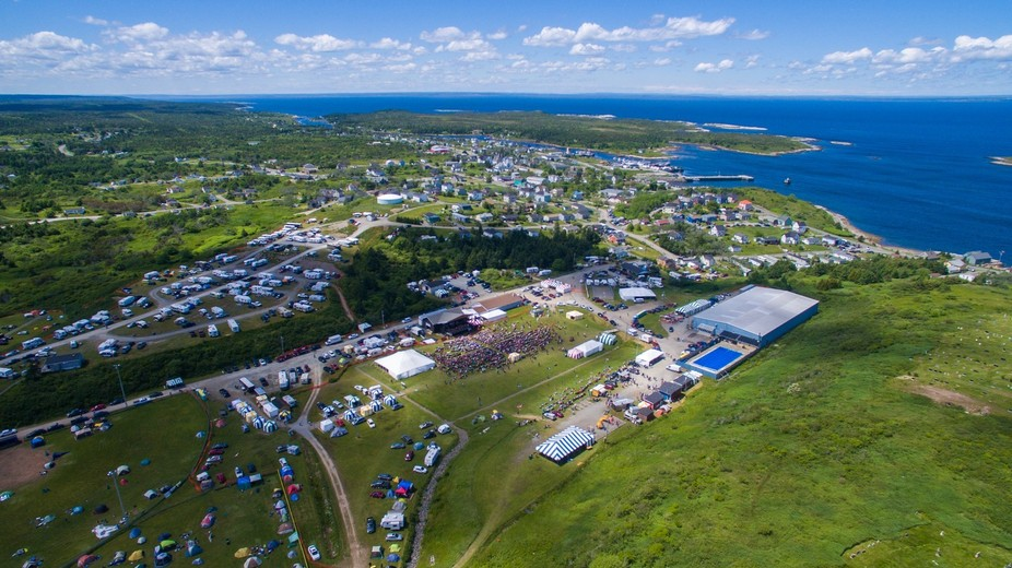 """Taken during the """"Sing Stan"""" portion of the Stan Rogers Folk Festival in Canso,..."""