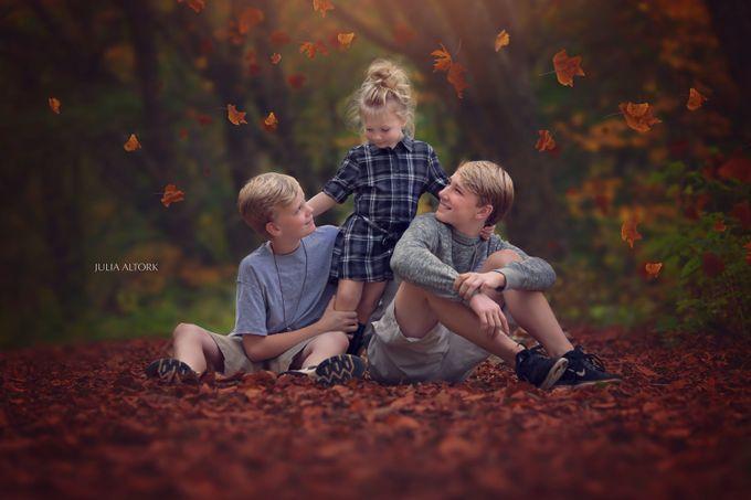 Siblings by JuliaAltork - Children In Nature Photo Contest